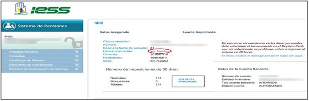 Figura 2. Datos del asegurado.